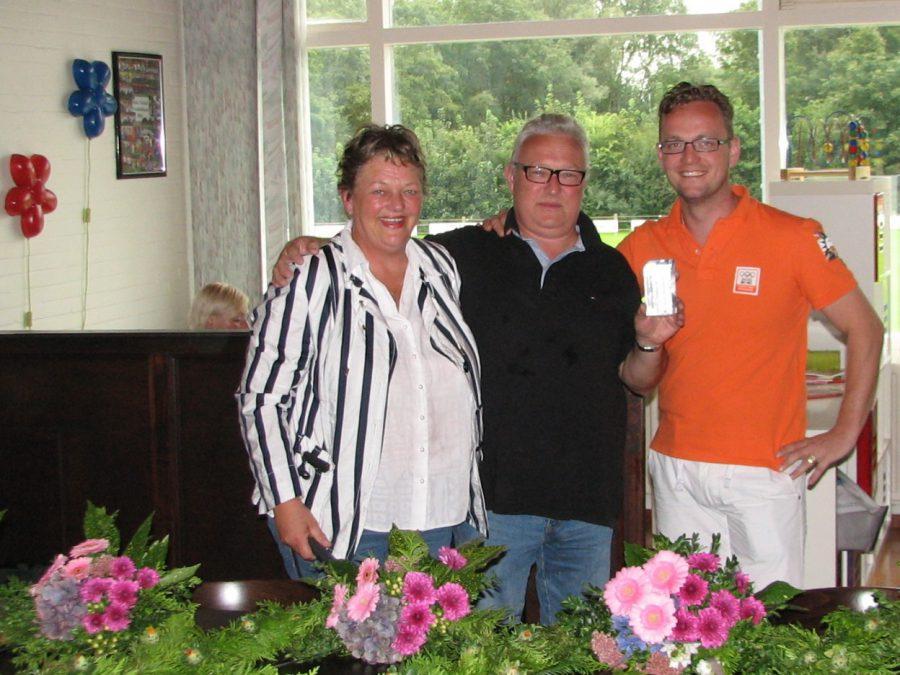 Henk Westerhoff winnaar competitie 2012