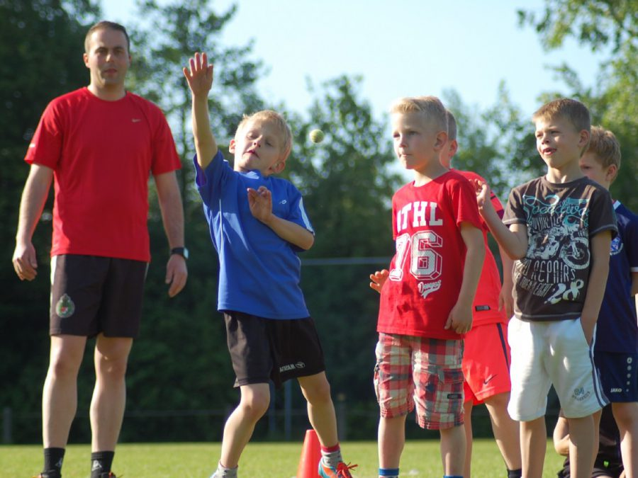 Jeugd training Reitsje Him 2015