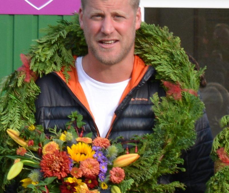 Winnaar Competitie 2018 Stefan Jeurink na 15 wedstrijden met 84 voor en 42 tegen